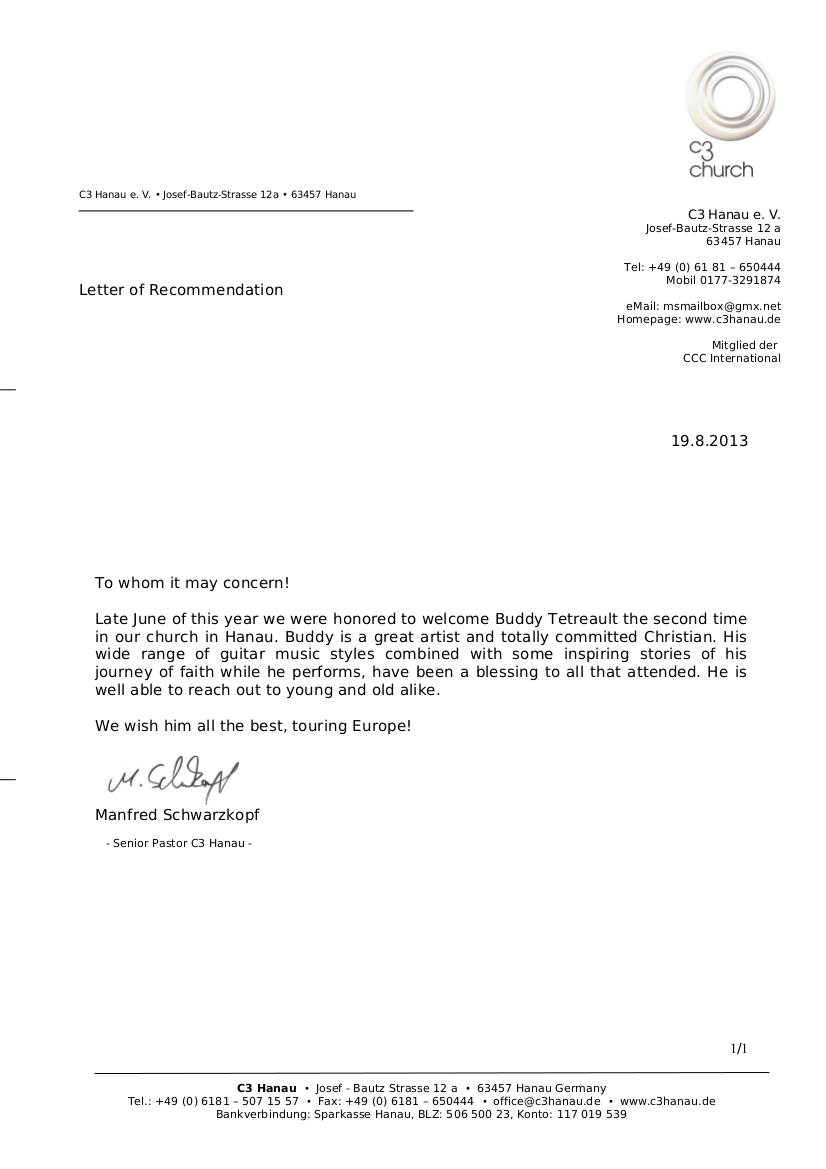 Recommendation Letter For Salary Raise – Salary Increase Recommendation Letter